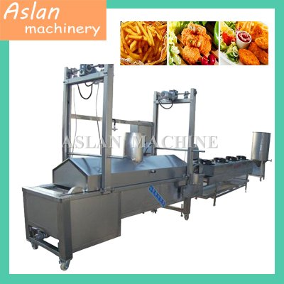 Continuous Frying Machine For Banana Chips  Potato Crisp
