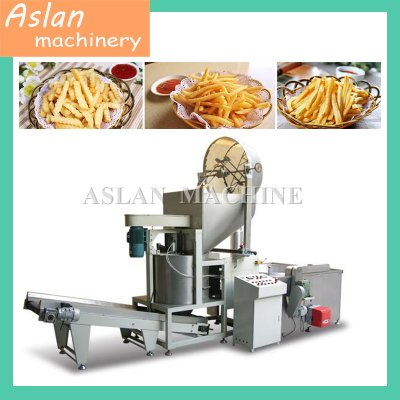 Automatic Snack Food Batch Continuous Frying Machine