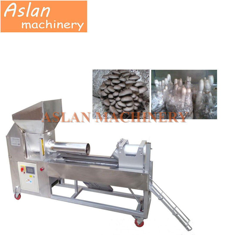 fungus mushroom growing bag filling machine